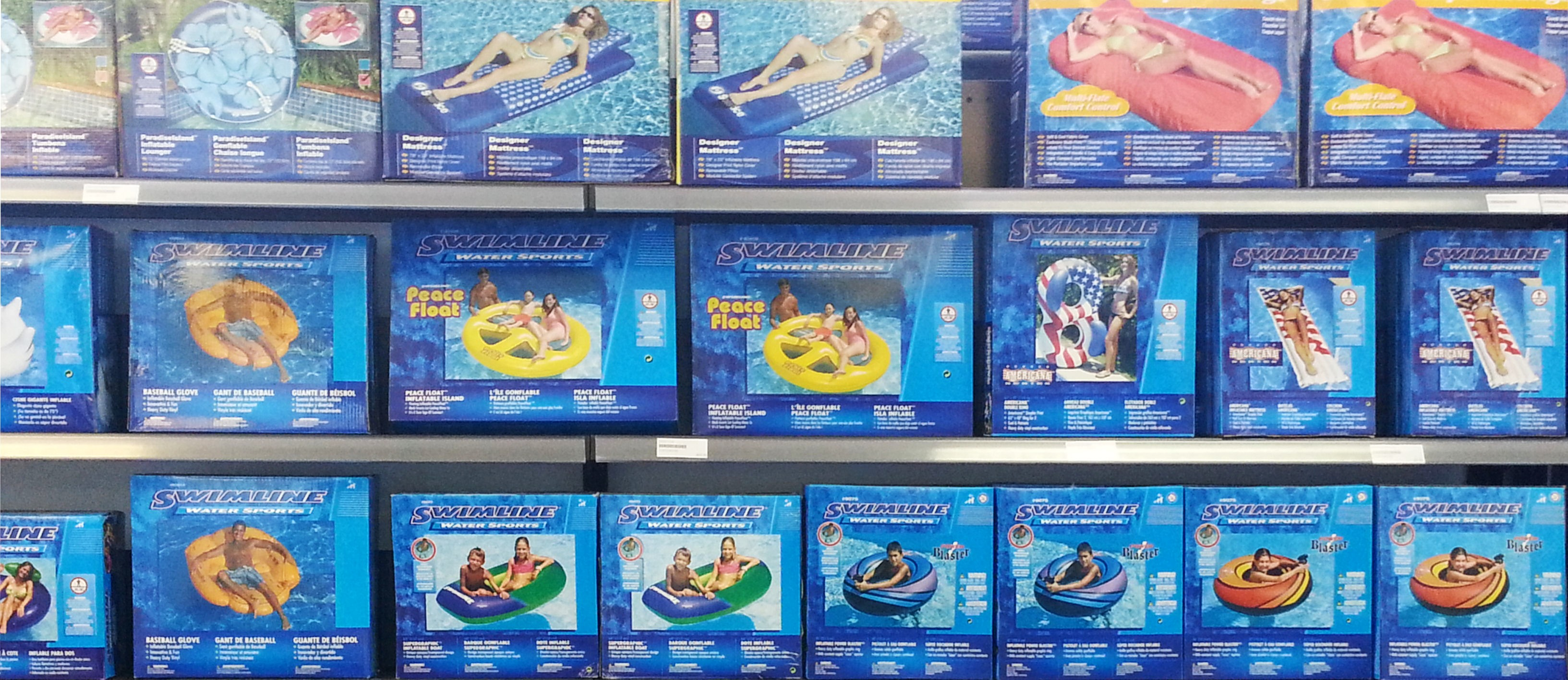 Tsunami Jims Pool & Spa | Swimline Floats